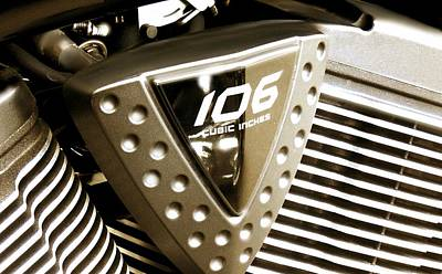 Photograph - Victory Motorcycles 2 by Marcello Cicchini