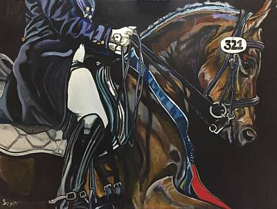 Painting - Victory Ride by Stephanie Come-Ryker
