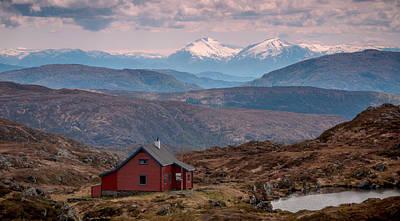 Photograph - Vidden, Bergen, Norway by Adrian O Brien