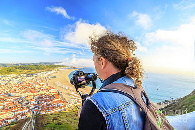 Photograph - Video Photographer In Portugal by Benny Marty
