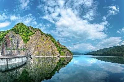 Photograph - Vidraru Lake by Mihai Andritoiu
