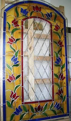 Glass Art - Vidriera De Flores by Justyna Pastuszka