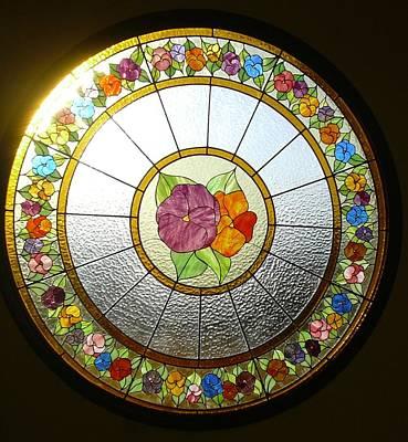 Glass Art - Vidriera De Los Pensamientos by Justyna Pastuszka
