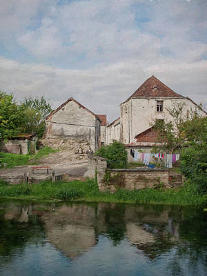 Photograph - Vie Rurale - Mussy Sur Seine - France by Jean-Pierre Ducondi