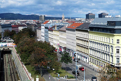 Slanec Photograph - Vienna Beltway by Christian Slanec