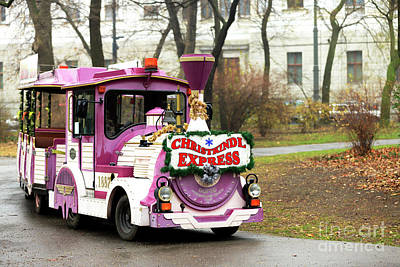 Photograph - Vienna Christkindl Express by John Rizzuto
