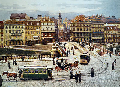 Photograph - Vienna: Ferdinandsbreucke by Granger