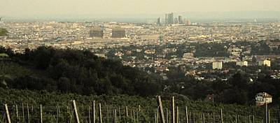 Photograph - Vienna From The Vineyard by Ian  MacDonald