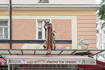 Photograph - Vienna Ice Cream by Sharon Popek