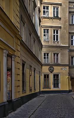 Door Photograph - Vienna Kleeblatgasse by Steven Richman