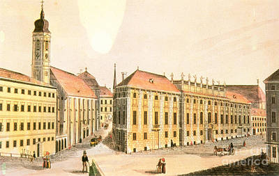 Beethoven Photograph - Vienna: Lobkowitz Palace by Granger
