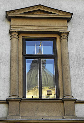 Photograph - Vienna Reflections by Doug Davidson