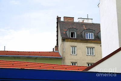 Photograph - Vienna Rooftops by Angela Rath