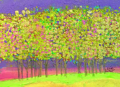 Vienna Woods  Springtime Art Print