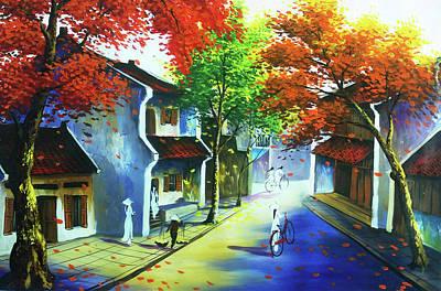 An Pham Painting - Vietnam Art by An Pham