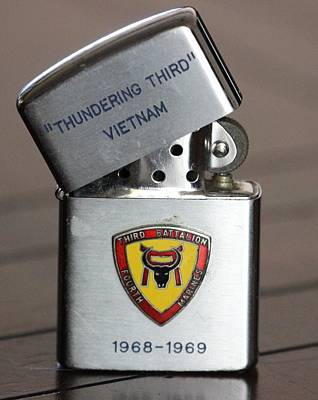 Photograph - Vietnam Lighter by Gary Canant
