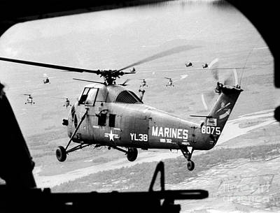 Photograph - Vietnam War 1966 by Granger