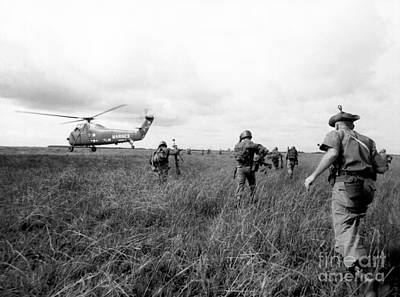 Marine Corps Photograph - Vietnam War by American School