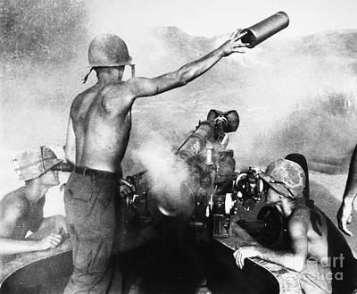 Encbr Photograph - Vietnam War: Artillery by Granger