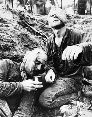 Vietnam War Medic 1966 Art Print by Granger