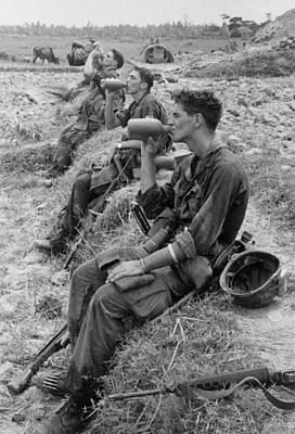 Cold War Era Photograph - Vietnam War. Soldiers Of The 25th by Everett