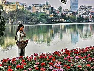 Kiem Photograph - Vietnamese Beauty I  by Chuck Kuhn