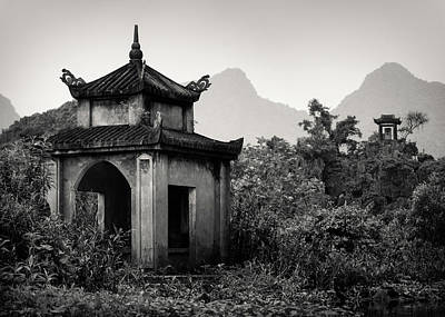 Vietnamese Photograph - Vietnamese Shrine by Dave Bowman