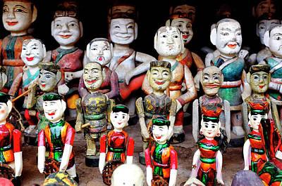 Photograph - Vietnamese Water Puppets by Fabrizio Troiani