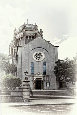 Photograph - Flagler Memorial Presbyterian Church, St Augustine, In Fadeout by Kay Brewer