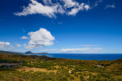 Photograph - View Across Diamond Head  by Michael Scott