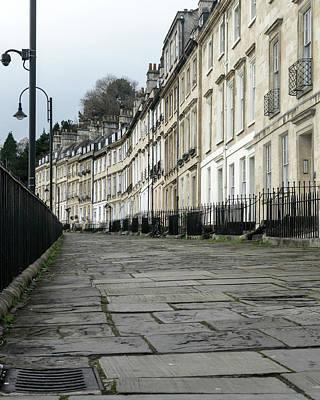 Photograph - View Across Georgian Terrace Houses by Jacek Wojnarowski