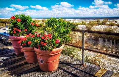 Photograph - View Along The Boards by Carolyn Derstine