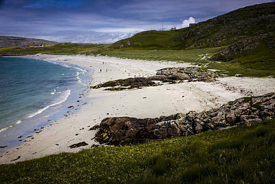 Photograph - View Along The Prince's Beach by Alex Saunders