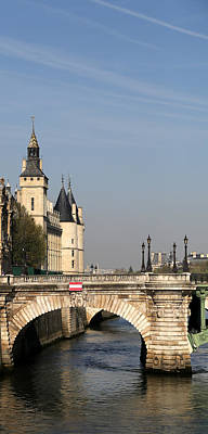 Photograph - View Along The Seine 1 by Andrew Fare