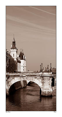 Photograph - View Along The Seine 1c by Andrew Fare