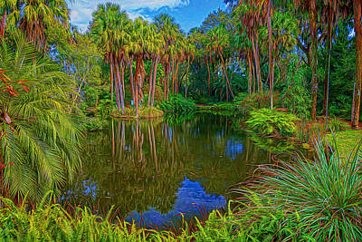 Photograph - View At Bok Tower Gardens by Lewis Mann