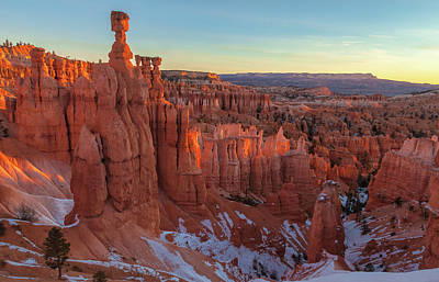 Photograph - View At Bryce Canyon by Jonathan Nguyen