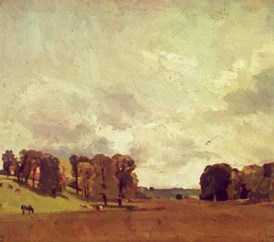 Painting - View At Epsom 1809 by Constable John