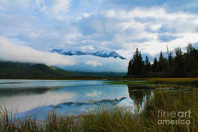 Photograph - View At Vermillion Lakes by Nina Silver