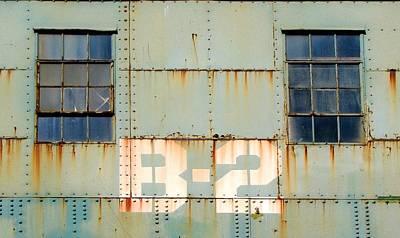 Rivets Photograph - View B-2 by Ben Freeman