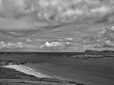 Photograph - View Blasket Island Bw #g0 by Leif Sohlman