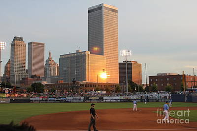 Photograph - View From 3rd Base by Sheri LaBarr
