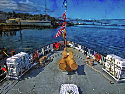 Photograph - View From The Deck by Thom Zehrfeld