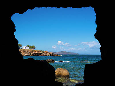 Photograph - View From A Cave by Rae Tucker