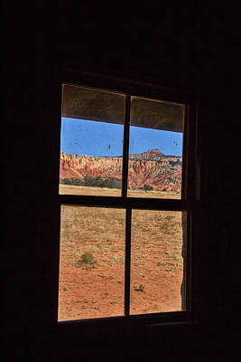 Photograph - View From A Ghost Ranch Cabin by Stuart Litoff