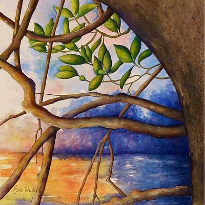 Painting - View From A Kayak by Barb Toland