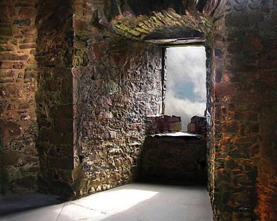 Digital Art - View From A Lofty Tower by Vicki Lea Eggen