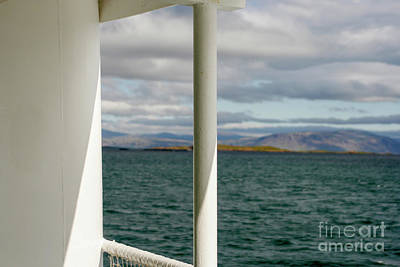 Photograph - View From A Ship by Patricia Hofmeester