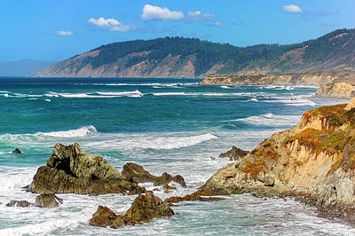 Photograph - View From Abalone Point by Greg Reed