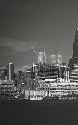 Photograph - View From Across The Hudson_print 30x48_left by Eduard Moldoveanu